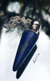 Lapis Lazuli pendel mer 'verborgen vakje'