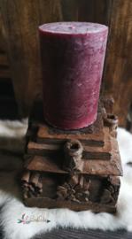 Vintage Houten Kandelaar uit India