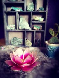 Lotus Waxinelicht Roze