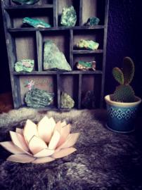 Lotus Waxinelicht pastelroze