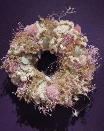 Botanic Flower Wreath Pinkish | Bloemenkrans
