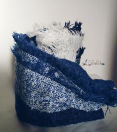 Zachte sjaal Blue