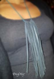 Fringe & Frills ketting Blauw