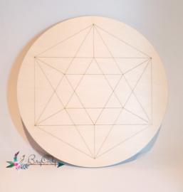 Crystal Grid   Icosahedron   18 cm