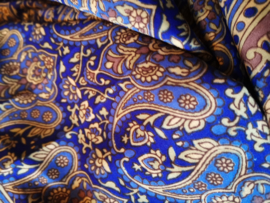 Ibiza Dress one size fits all | Wikkeljurk | sari |  royal bleu