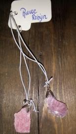 Ruwe Robijn hanger