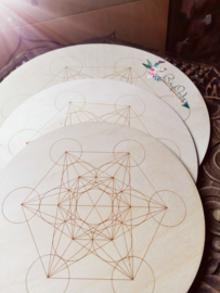 Crystal Grid |  Metatron kubus | 25 cm