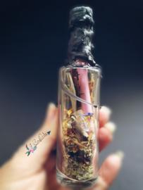 Wish Bottle Lively met kaarsvet