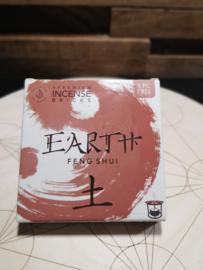 Aromafume Feng Shui Wierookblokjes | Element Aarde