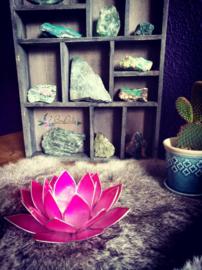 Lotus waxinelicht | roze |groei naar verlichting