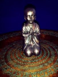 Shaolin Mediterende Monnik