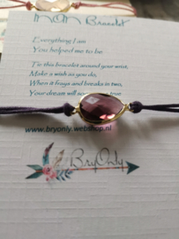 Verstelbare Wish bracelet | Mom