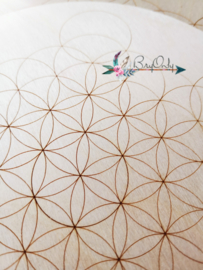 Crystal Grid | Flower of Life | 18 cm