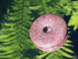 Rhodoniet Donut 30mm