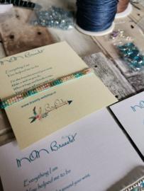 Verstelbare Wish bracelet |  Mom