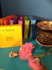 Aromafume Chakra 9 Wierookblokjes | Manipura | solar plexis chakra
