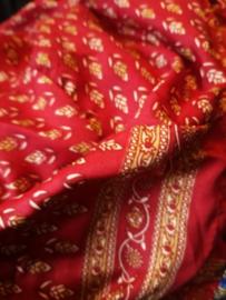 Ibiza Dress one size fits all | Wikkeljurk | sari | rood