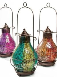 Glazen lantaarn uit India