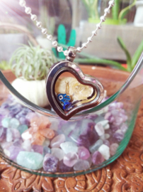 Forever in my heart Locket Lucky