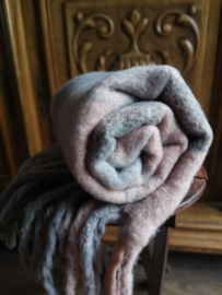 Superzachte winter sjaal Pinkish Grey