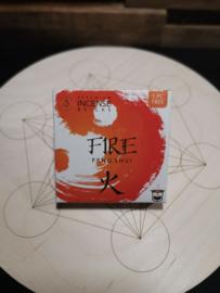 Aromafume Feng Shui Wierookblokjes | Element Fire
