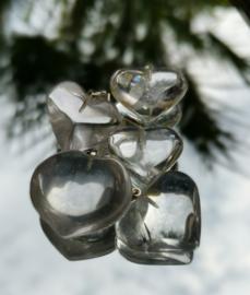 Hart van bergkristal