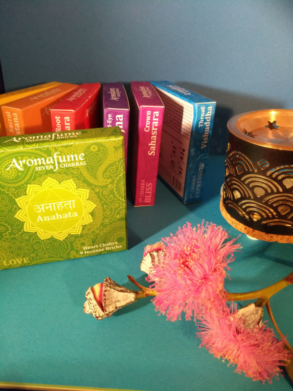 Aromafume Chakra 9 Wierookblokjes | Anahata | heart chakra
