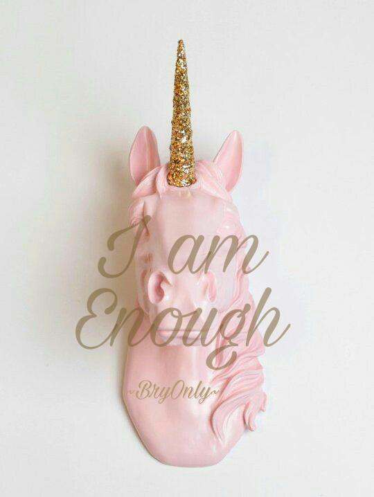 Affirmatiekaartje en engeltje I am Enough