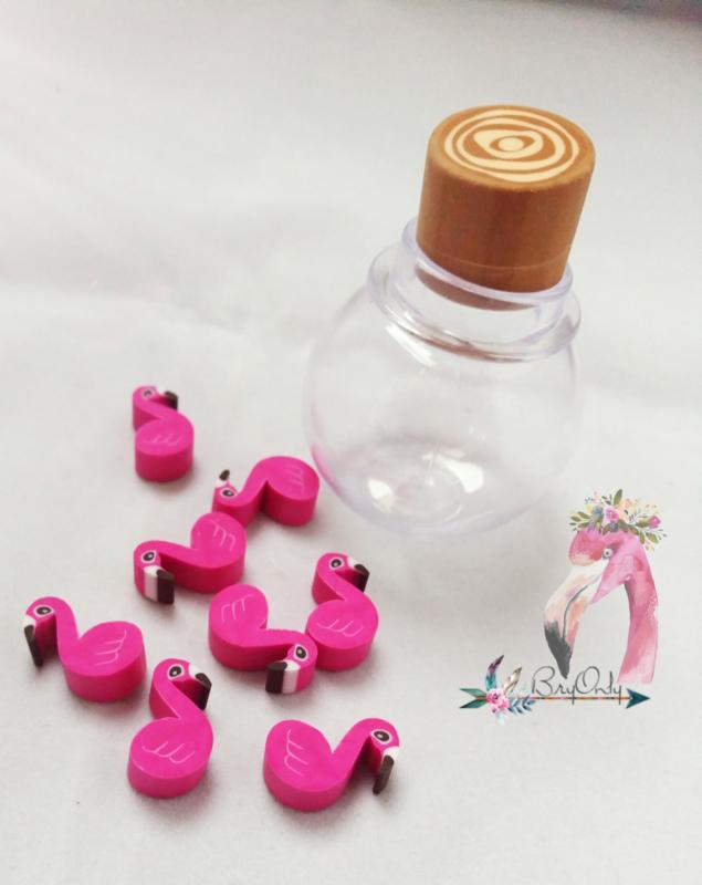 Mini Flamingo gummetjes