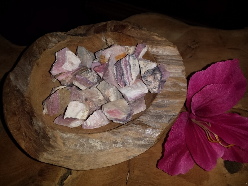 Ruwe Andes Opaal roze