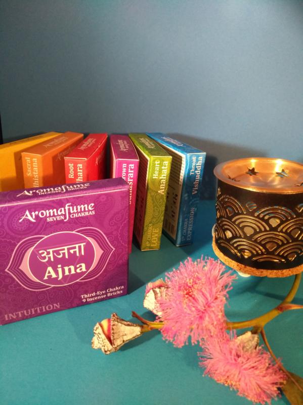 Aromafume Chakra 9 Wierookblokjes | Ajina | 3e oog