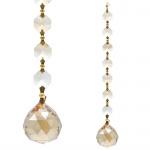 Oneness' Feng-Shui kristallen - raamdecoratie - champagne kleur