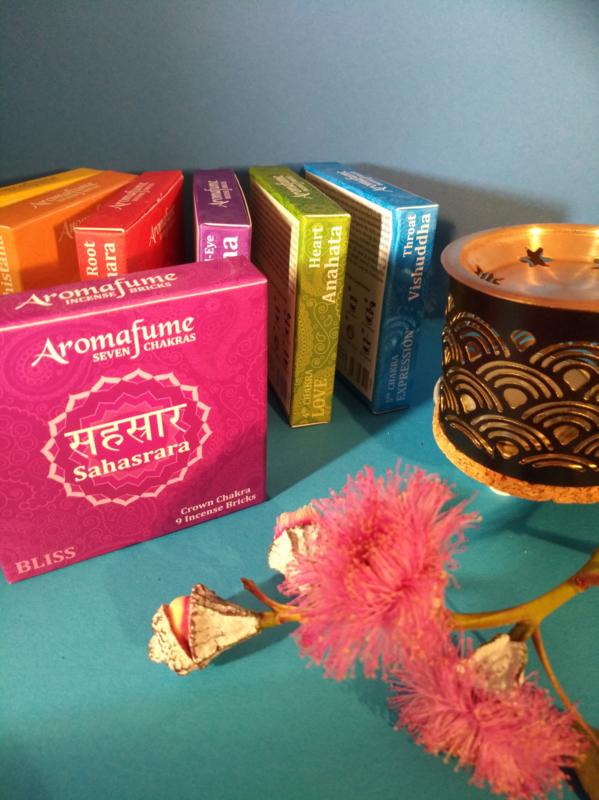 Aromafume Chakra 9 Wierookblokjes | Sahasrara | crown chakra