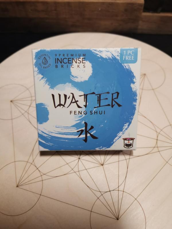 Aromafume Feng Shui Wierookblokjes | Element Water