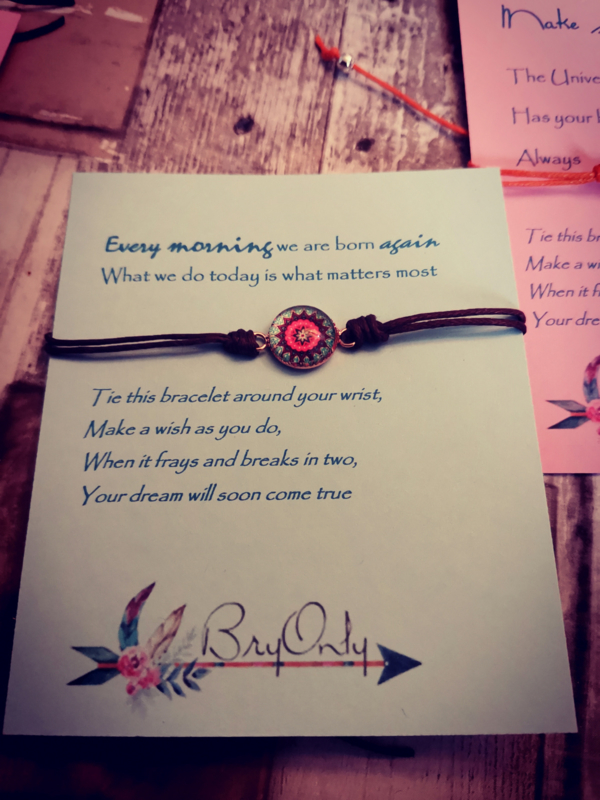 Verstelbare Make A Wish Bracelet Mandala |Do it