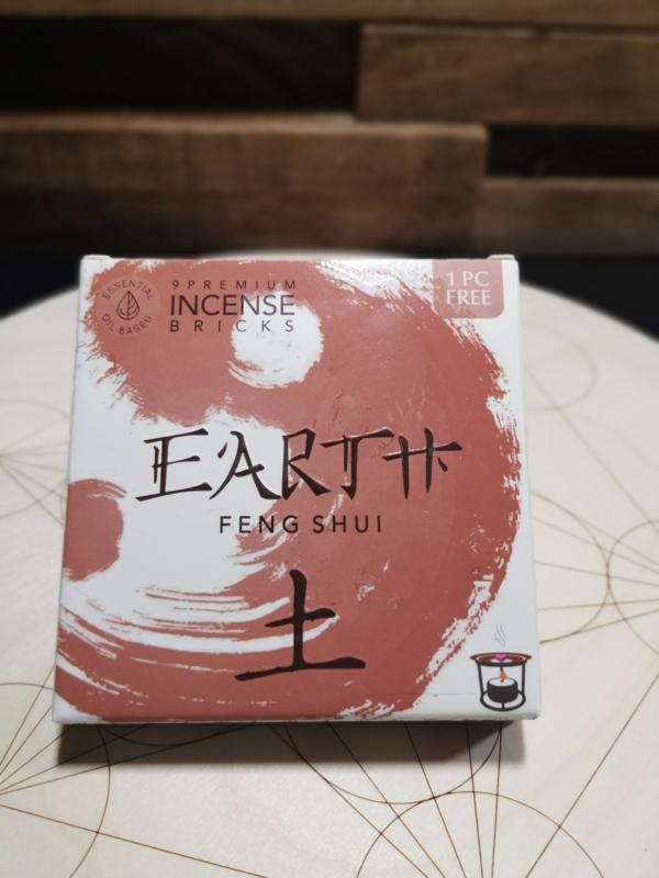 Aromafume Feng Shui Wierookblokjes   Element Aarde
