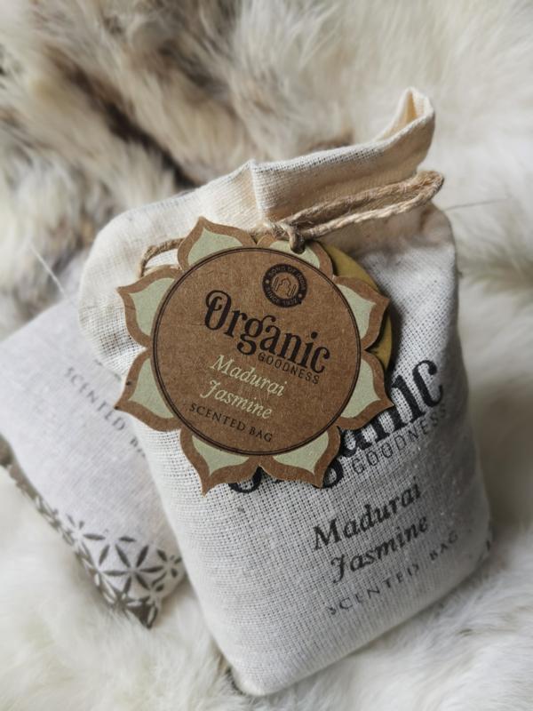 Organic Goodness | Jasmijn geurzakje