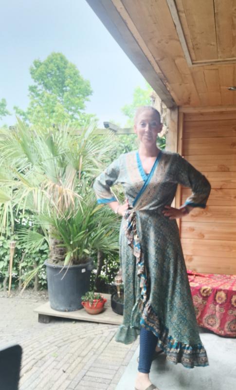 Ibiza Dress one size fits all   Wikkeljurk   sari  