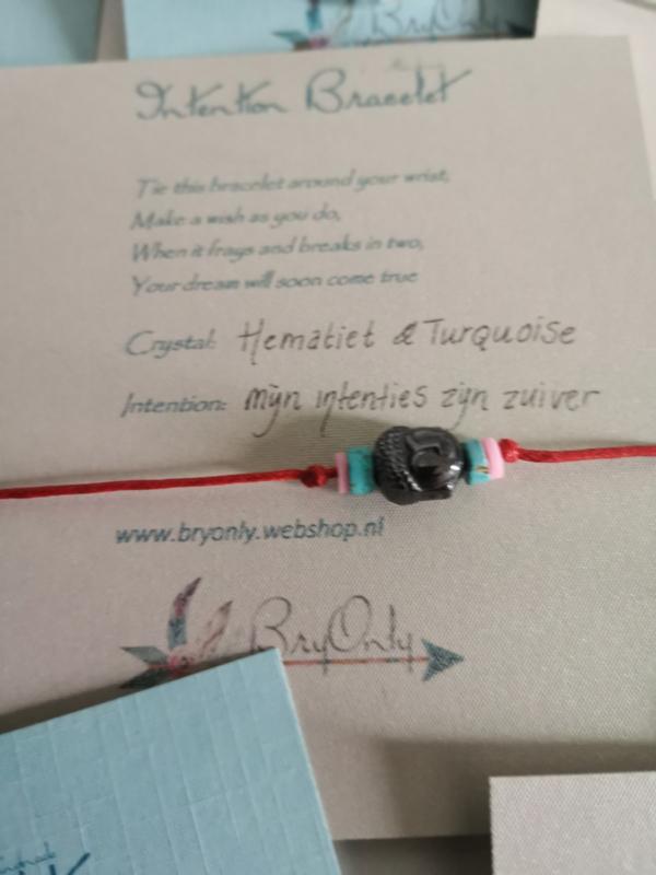Intention Bracelet Hematiet