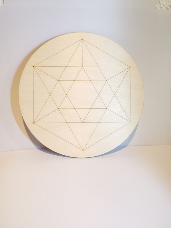 Crystal Grid | Icosahedron | 25cm