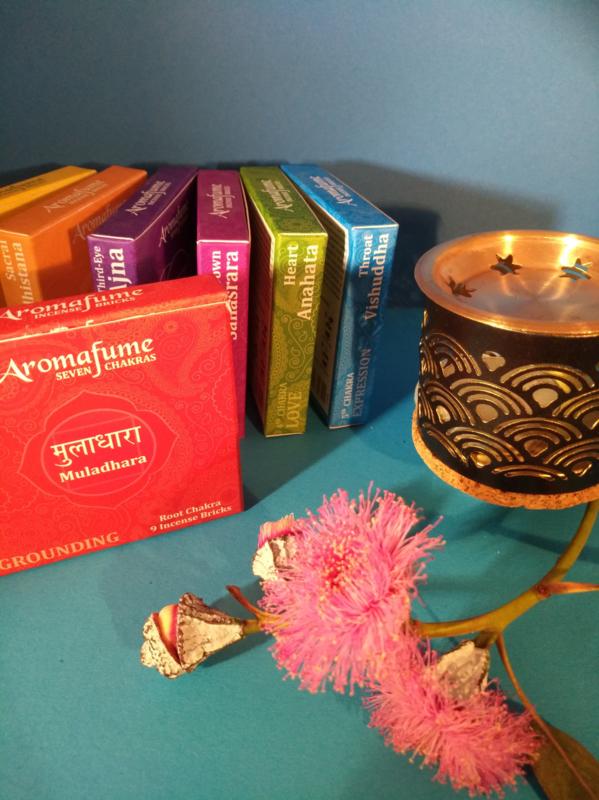 Aromafume Chakra 9 Wierookblokjes | Muladhara | root chakra