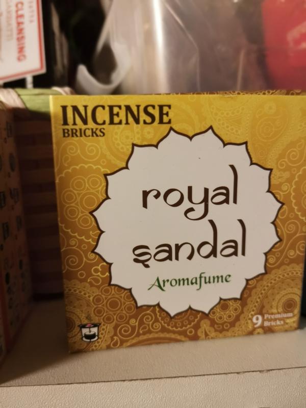 Aromafume Chakra 9 Wierookblokjes |Royal Sandal