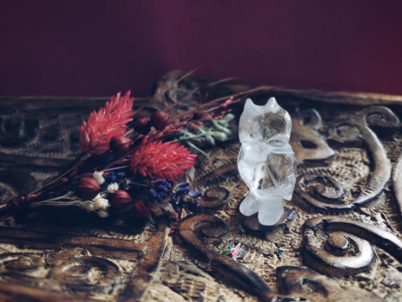 Uil bergkristal