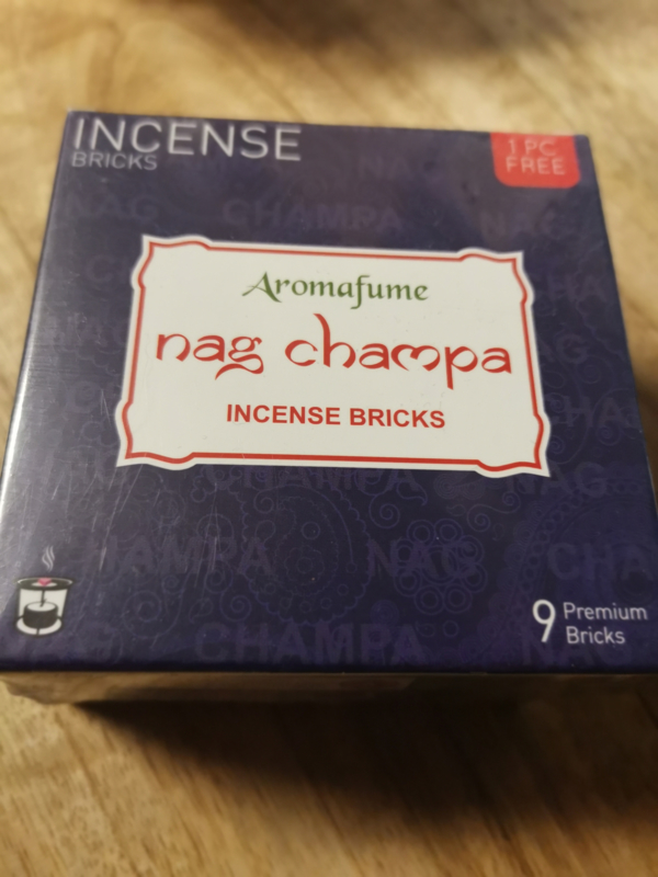 Aromafume Chakra 9 Wierookblokjes | Nag Champa