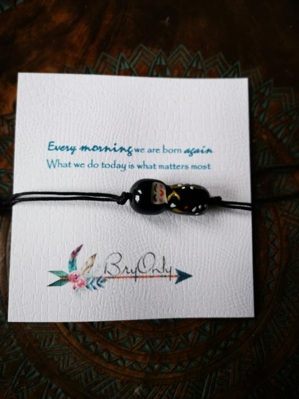 Verstelbare Wish bracelet