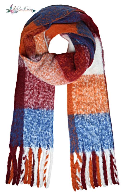 Zachte sjaal Multi Color