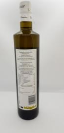 Geschenkpakket met 2 x 500 ml olijfolie glas/blik en 150 gram zeezout van de Libische zee.