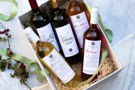 Giftset wijn Liatiko, Vidiano, MikroMikraki, Pentozali wit en rood