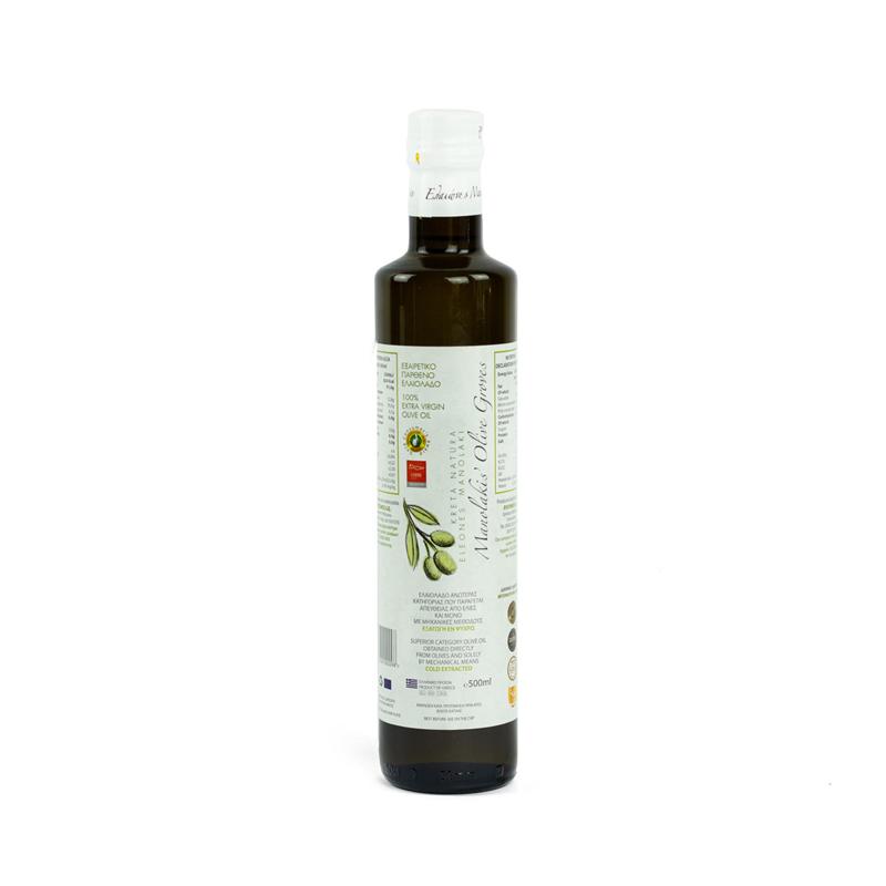 Olijfolie Super Extra Vierge 500 ml (glas)