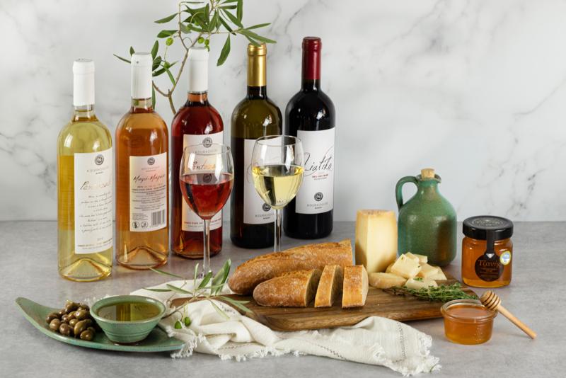 Wijnproeverij voor 6 personen